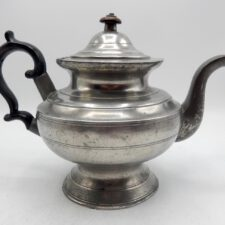 Pewter Teapot Marked by Allen Porter