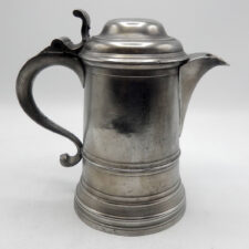 Quart Pewter Flagon by Boardman