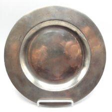 English Flat Rim Plate