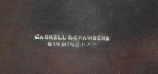 Gaskell & Chambers Quart English Pewter Mug