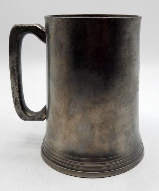 Queen Victoria Quart English Pewter Mug