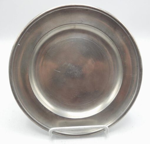 Pewter Plate by Ashbil Griswold