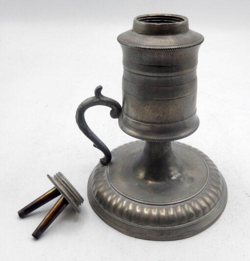 Meriden Britannia Co. Pewter Lamp.