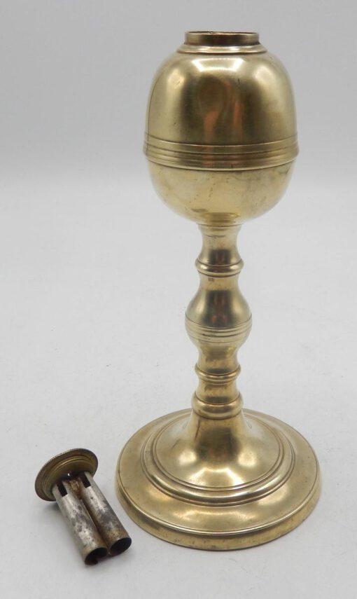 Brass Lamp Marked Webb