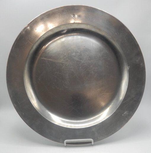 "16 ½"" Pewter Dish by Robert & Thomas Porteus"